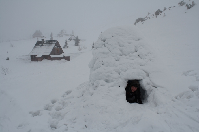 Coming across an igloo is always a bonus.